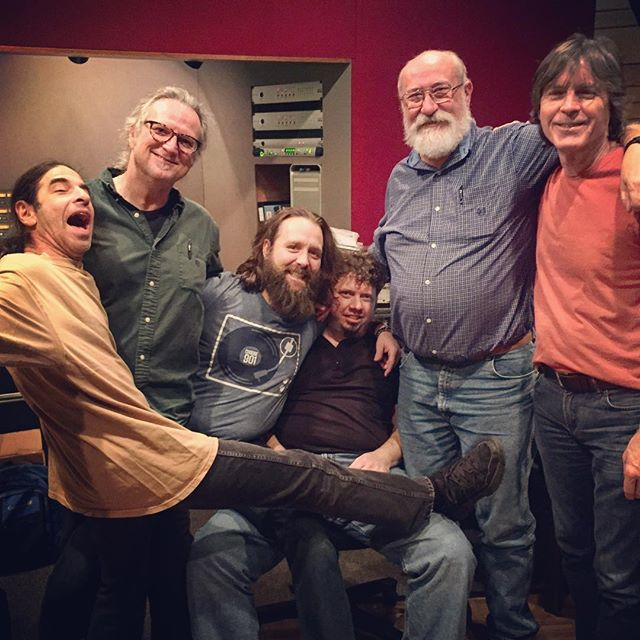 This week Michissippi Mick started work on his next album! Love having these guys back in the building. #mickkolassa #jeffjensen