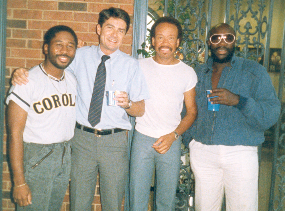 Ardent: James Alexander (The Bar-Kays), John Fry, Maurice White (Earth, Wind, & Fire), and Isaac Hayes