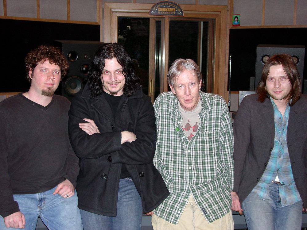 Ardent Studio A - Adam Hill (asst. engineer), Jack White, John Hampton, Patrick Keeler