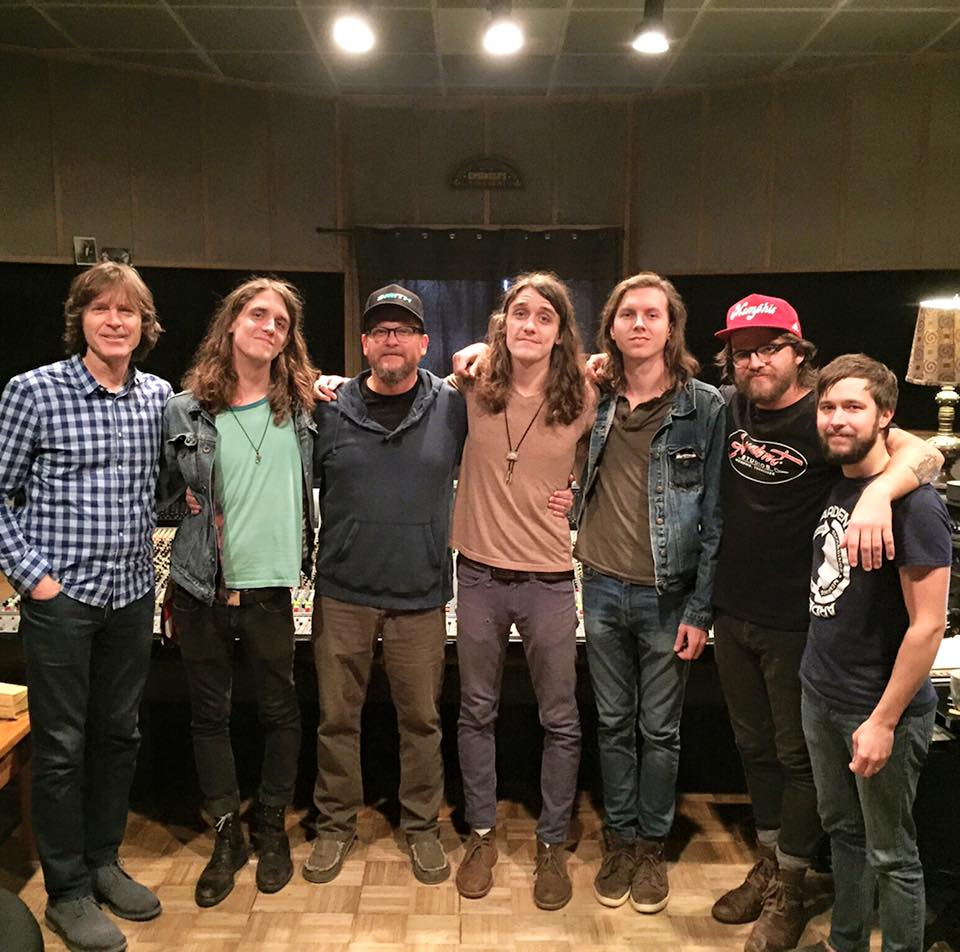 Studio A | Jody Stephens, Cain Barnes, Paul Ebersold, Cyle Barnes, Damian Bone, Sam Williams, and Josh St. Moblo