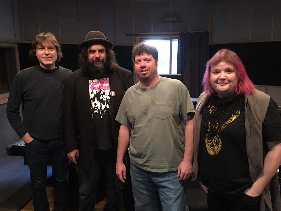 Studio A: Jody Stephens, Fernando Perdomo, Adam Hill, and Cait Brennan