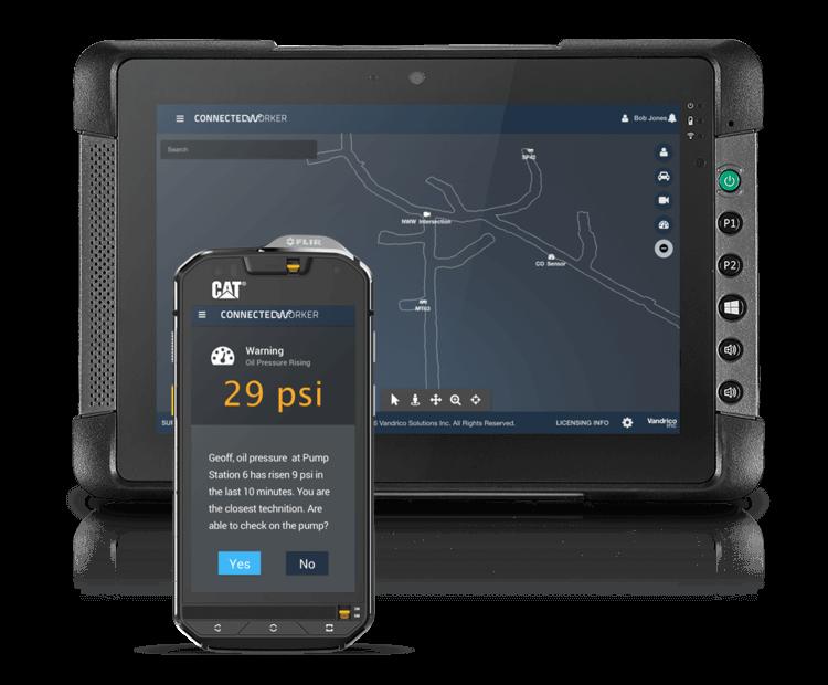 Vandrico Connected Worker Tablet Phone