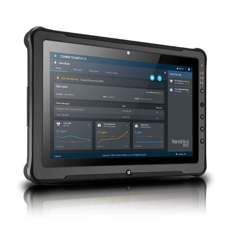 Vandrico Connected Worker Tablet