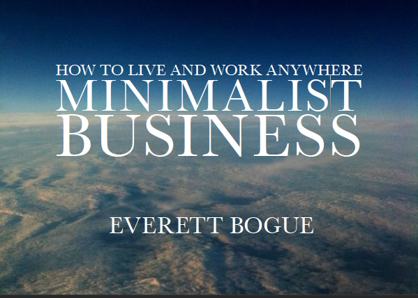 Cover of Minimalist Business by Ev Bogue