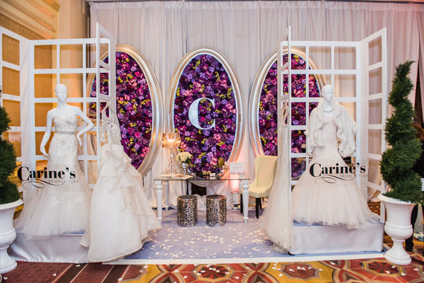 Booth at Unveiled Bridal Expo