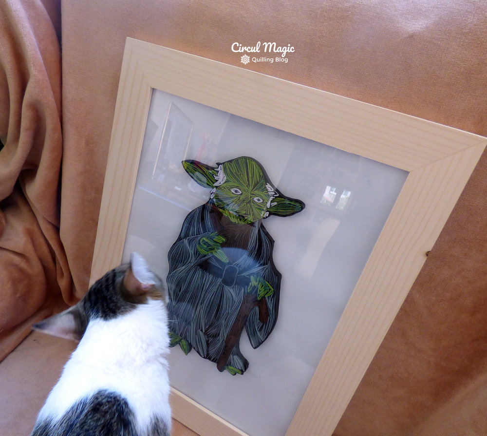 Quilling Characters: Star Wars' Yoda