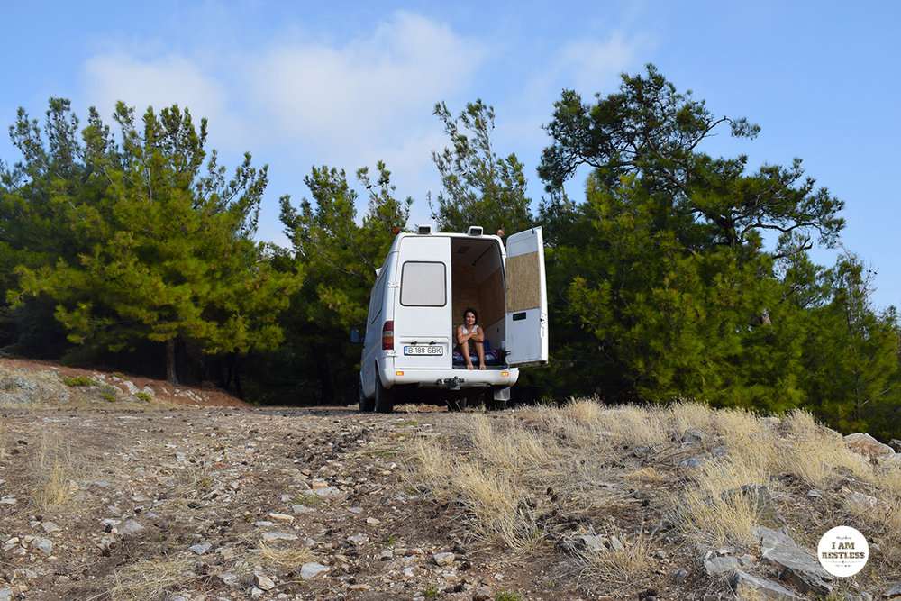 6 Things We Learned from Our First Camper Van Trip in Thassos, Greece - I Am Restless Travel Blog