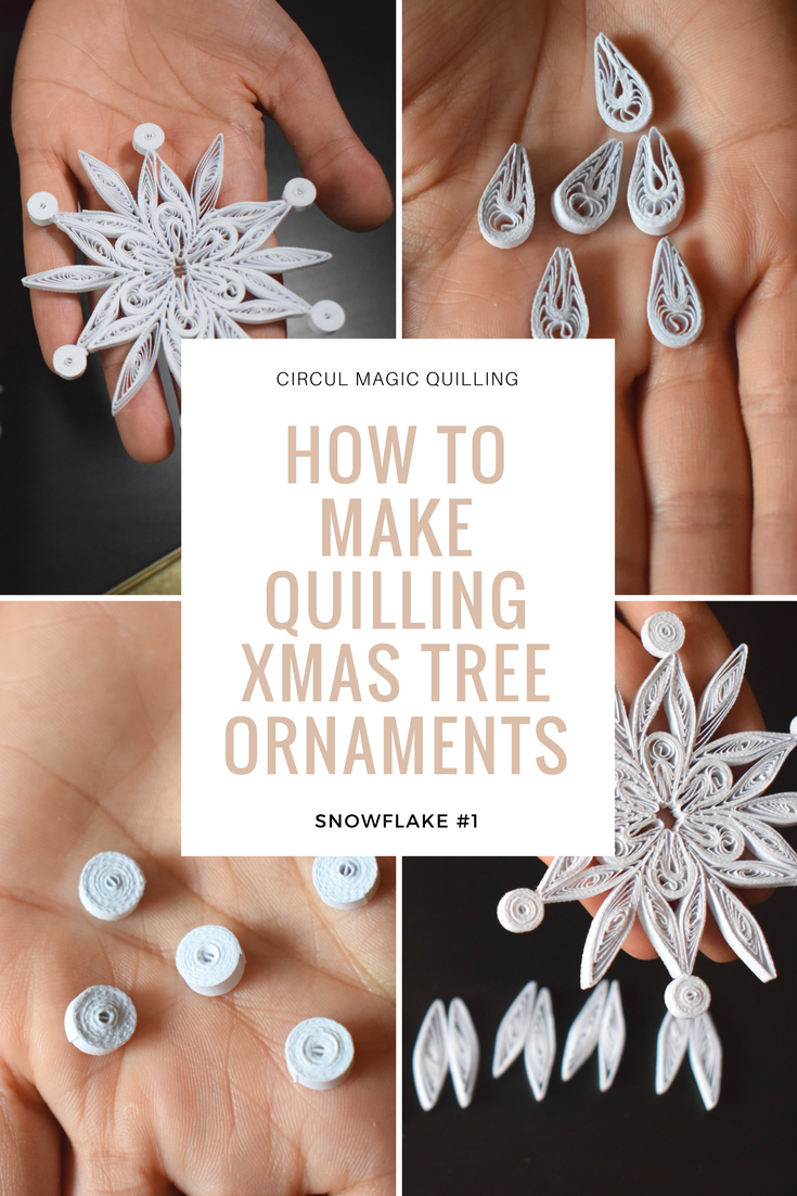 how to DIY quilling paper christmas tree ornaments - a snowflake tutorial circul magic (3).png