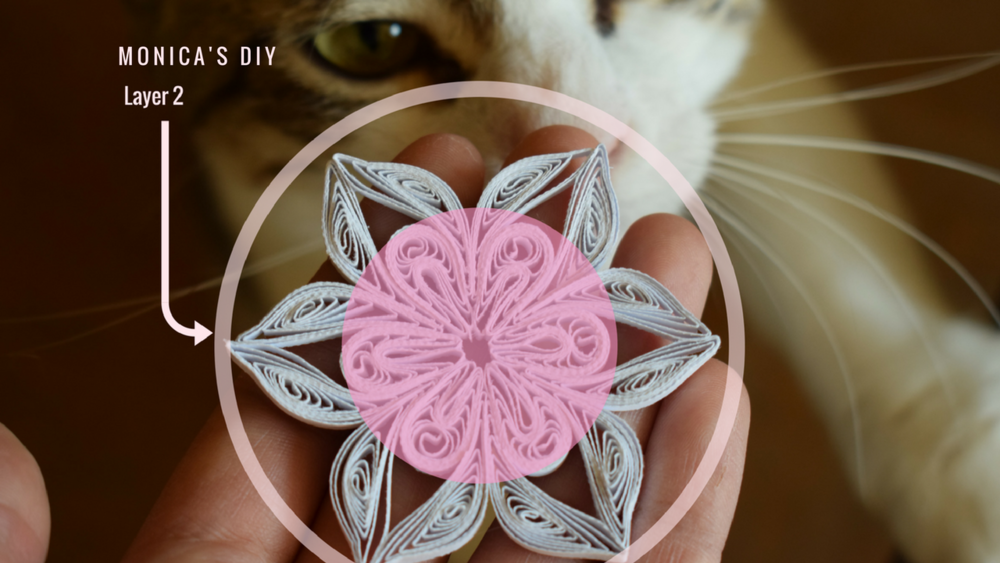 How to Make a Quilling Snowflake: Paper DIY Christmas Tutorial #2
