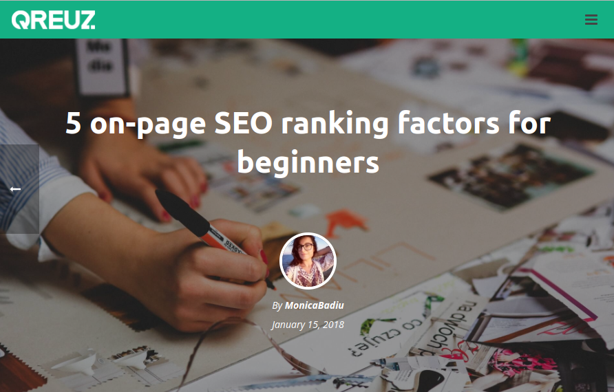 On-page SEO ranking factors for beginners