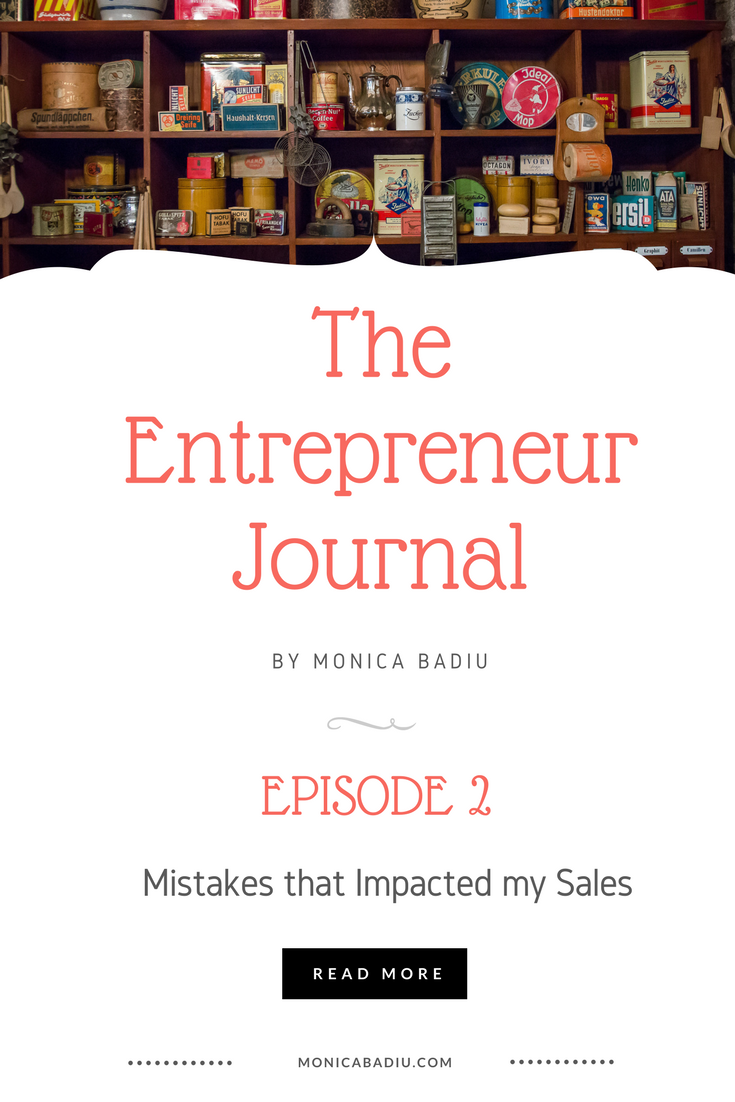 I Am a Handmade Business Owner and I Made these 4 Mistakes that Impacted my Sales this Spring