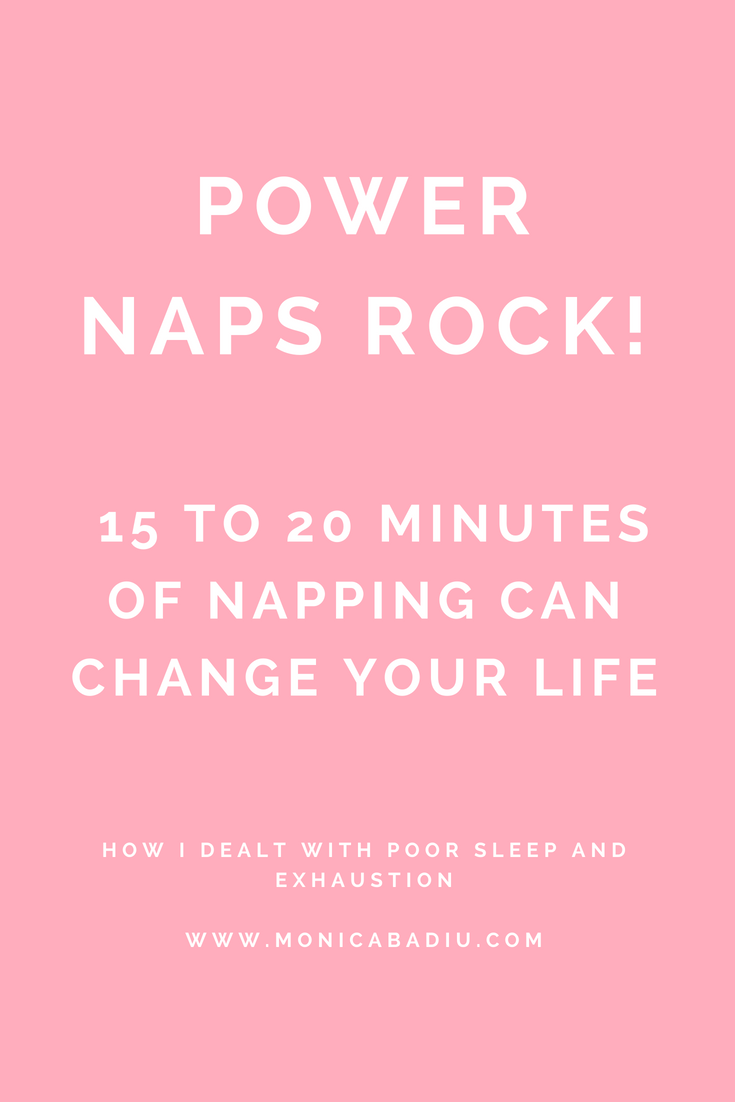 Power naps rock - Read more at www.monicabadiu.com