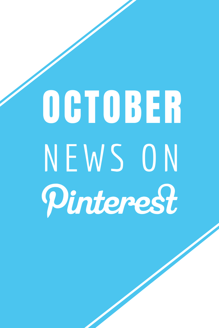 October in Pinterest News -  Read more at www.monicabadiu.com