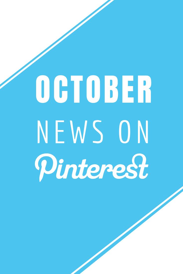 October in Pinterest News -  Read more at www.monicabadiu.com