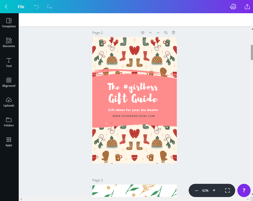 11 Gift Guide Canva Templates for Pinterest - www.monicabadiu.com