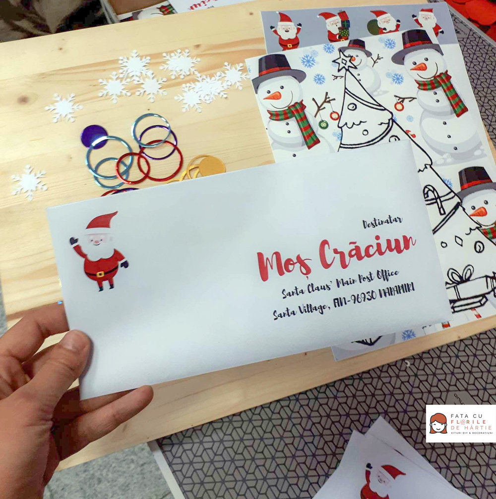 Santa Claus Letter  - DIY kit for kids