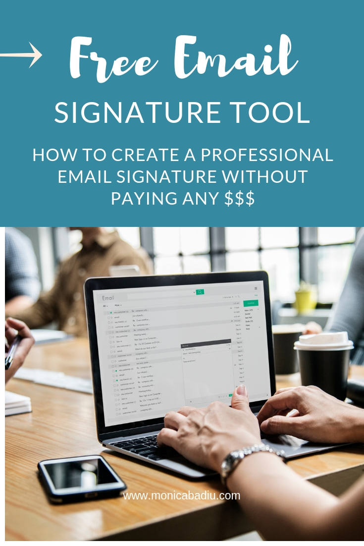 Free Tool to Create a Professional Email Signature — Visibility