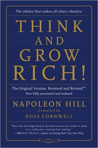The 9 Books on My Money Mindset Reading List - Think and Grow Rich! - Full List at www.monicabadiu.com