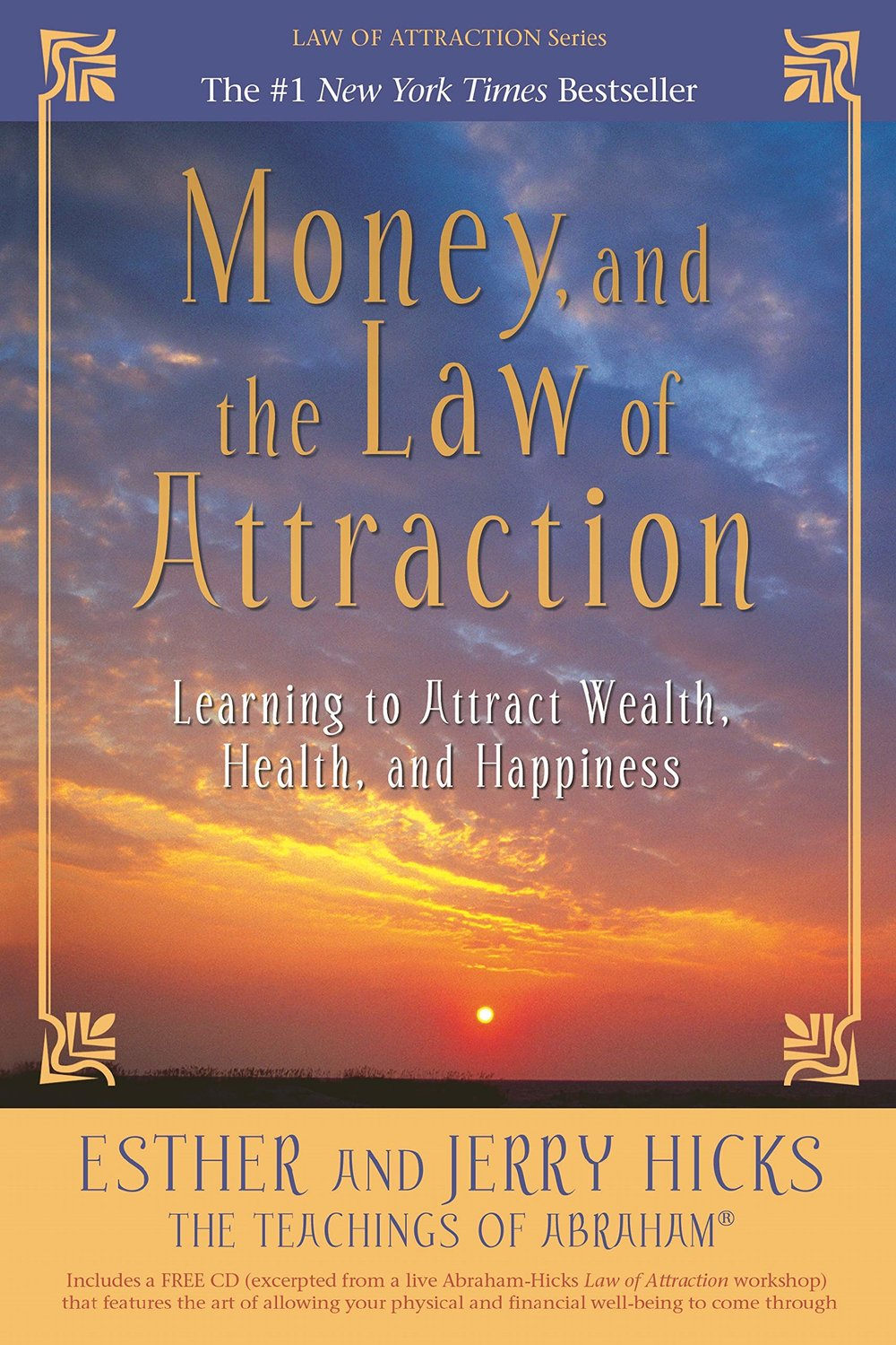 The 9 Books on My Money Mindset Reading List - Money and the Law of Attraction - Full List at www.monicabadiu.com