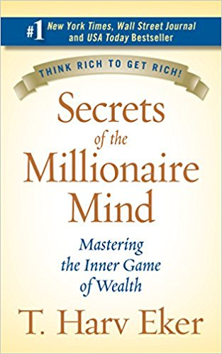 The 9 Books on My Money Mindset Reading List - Secrets of the Millionaire Mind - Full List at www.monicabadiu.com