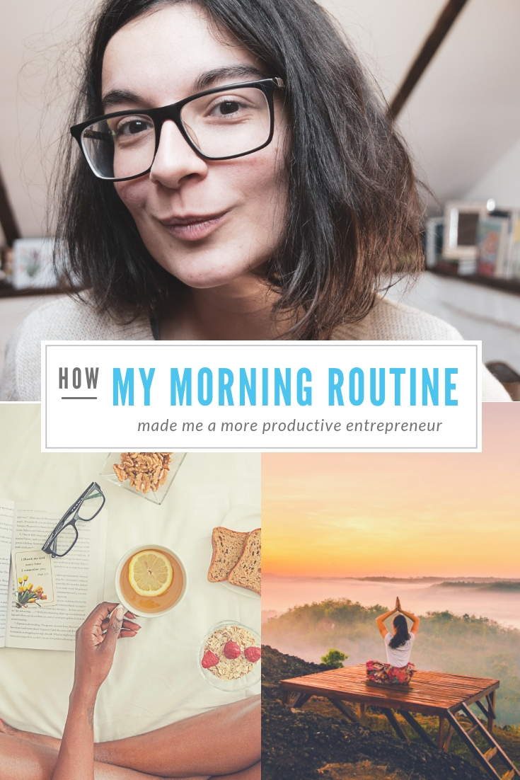How my morning routine made me a more productive and successful entrepreneur  #productivity #mindset #entrepreneurship #productivitytips #femaleentrepreneur #morningroutine #successfulmindset #success