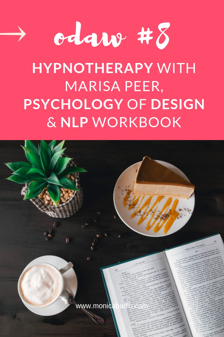Mindset Work Tools: Hypnotherapy Session With Marisa Peer,  Psychology of Design & NLP Workbook   #mindsetforsuccess #mindsetwork #reading #personaldevelopment #growth #entrepreneurship #fear #design #nlp