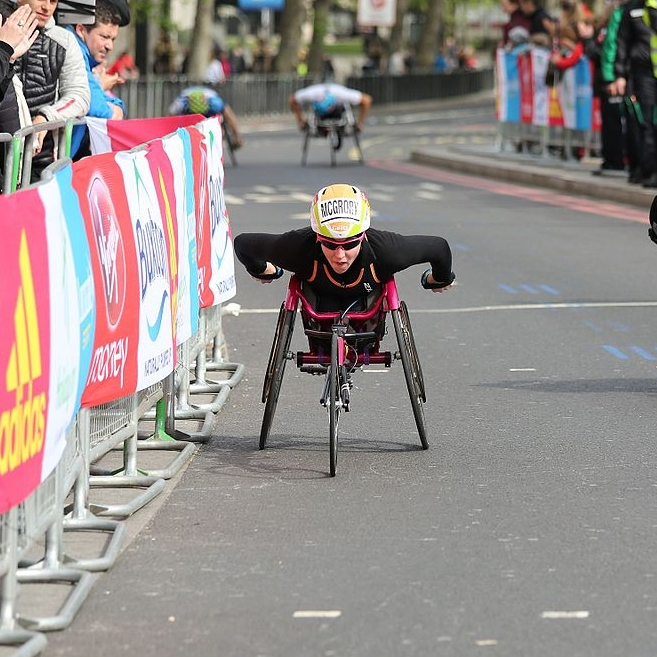 London Marathon - 1. Manuela Schar (1:39:57)2. Amanda McGrory (1:44:34)3. Susannah Scaroni (1:47:37OFFICIAL RESULTS PAGE