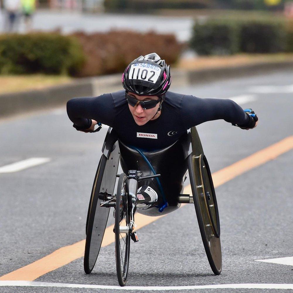 Tokyo Marathon - 1. Manuela Schar (1:43:25)2. Tatyana McFadden (1:44:51)4. Amanda McGrory (1:48:01)OFFICIAL RESULTS HERE