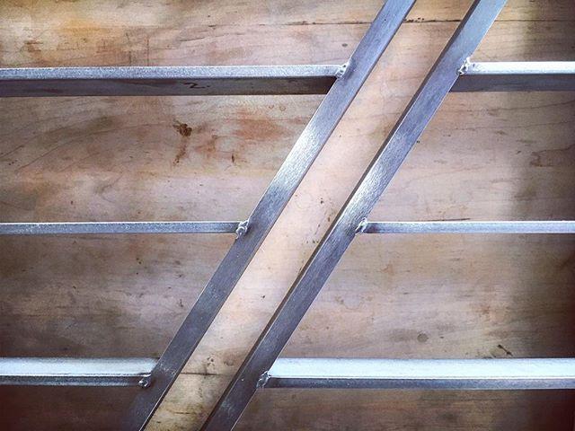#Modern #stainlesssteel railing process shot.