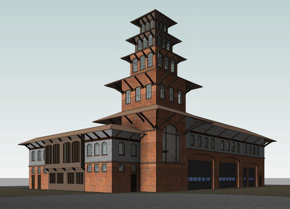 Kathmandu Fire Station  Kathmandu, Nepal   Government