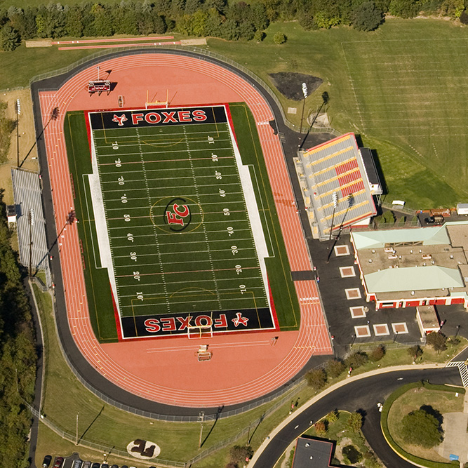 James M. Burk Stadium  Fox Chapel School District   Education / Athletic