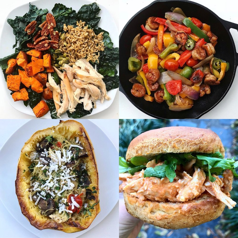 5 days worth of meals & grocery list — rayesup