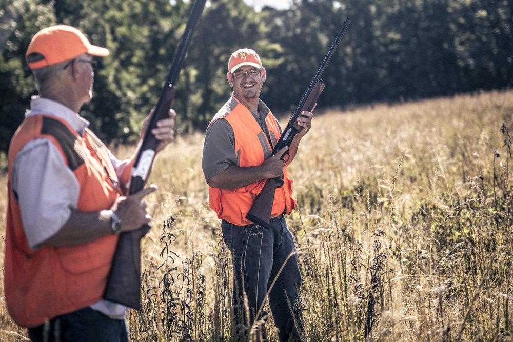 Two Hunters European Hunting