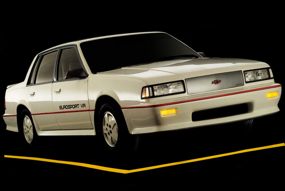 automoviles8090 :     Chevrolet Celebrity Eurosport VR Sedan 1987