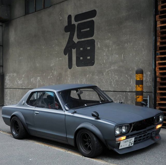 radracerblog :      Nissan Skyline GT-R Coupe C10     @911racer