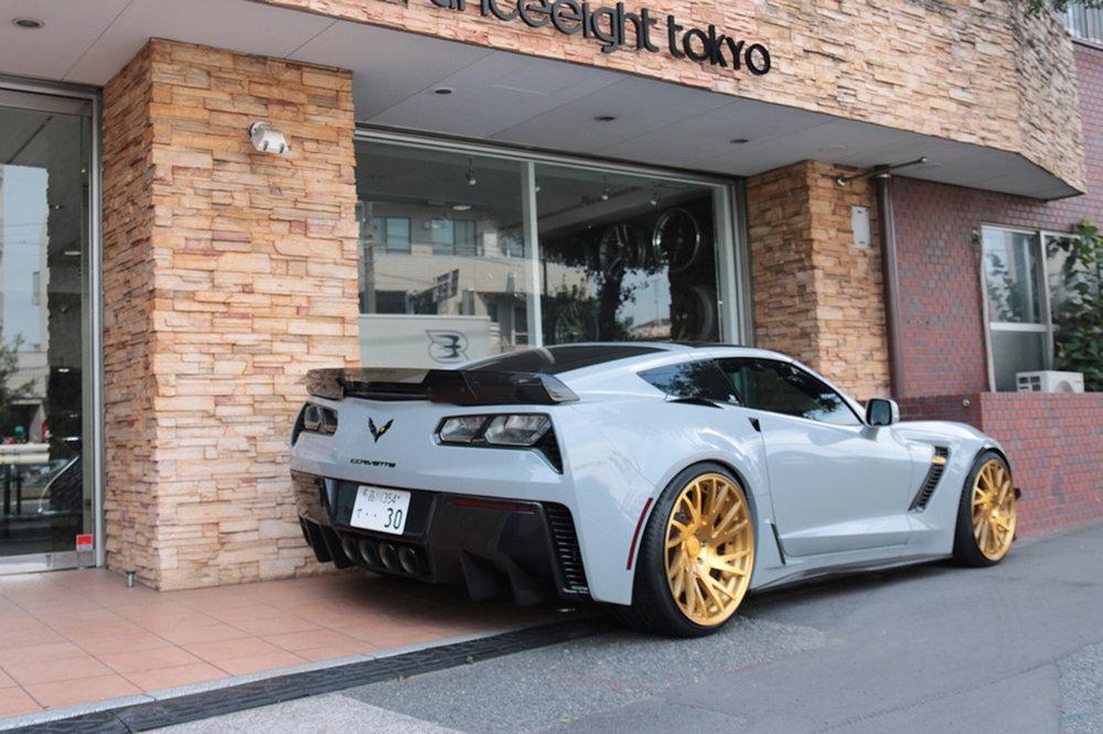 forgiatowheels :     Corvette on Forgiatos