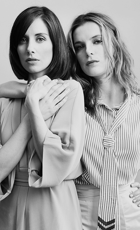 dailynetflixglow :      Alison Brie and Betty Gilpin  for W Magazine.