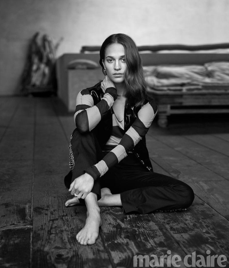 fashionfaves :    Alicia Vikander by Thomas Whiteside