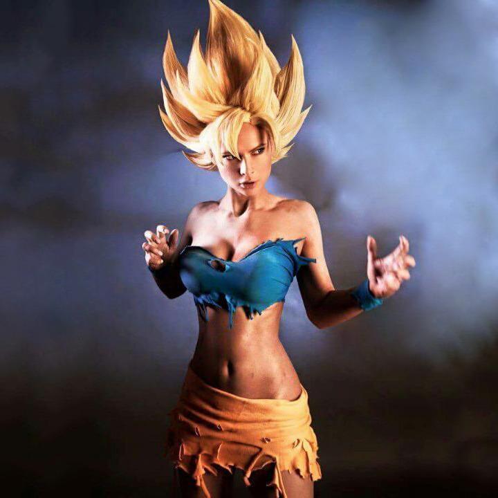 cosplaygonewild :     Dragon Ball Z goku