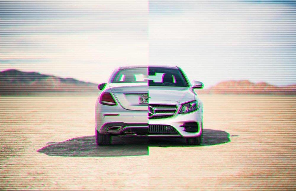 Split decision. It's back.   #mercedesbenz #e400 #elmirage #california #drylake #splitdecision #scanlines #instacars #carsofinstagram #desert #sunshine #funday #😳 #🔥 #💪🏽 #🌞🌞  (at El Mirage, California)