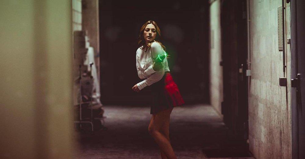 Lost in Space?  .  .  .  #olgainspace #russian #model #female #miniskirt #blouse #blaster #scifi #inspace #barbarella #sciencefiction #fun #letsflyintospaceandfightforjustice #hammerfettbombekrass #thisisit #❤️ #🔥 #💪🏼 #🤖 #👩🏻🎤 #🍑 #zappbranniganwouldbeproud (at Düsseldorf, Germany)