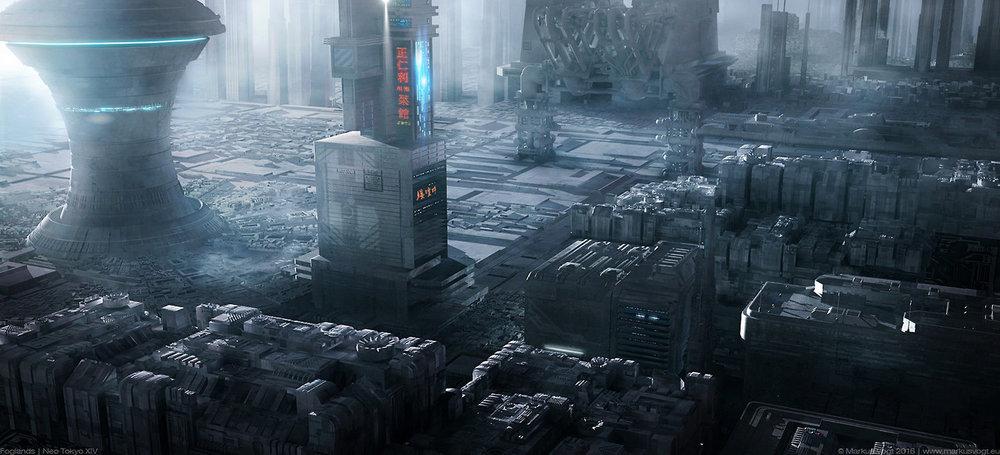 civilizationfiction :      Foglands | Neo Tokyo XIV, Marcus Vogt