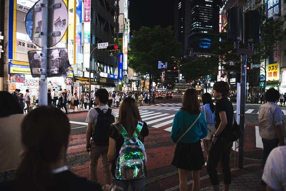 Tokyo Nights.  #tokyo #japan #🇯🇵 #nightowl #shibuya #travel #travelphotography #streetphotography #funtimes #cityofcities #🖖🏼 #❤️ #🤖 #👹  (at Shibuya, Tokyo)