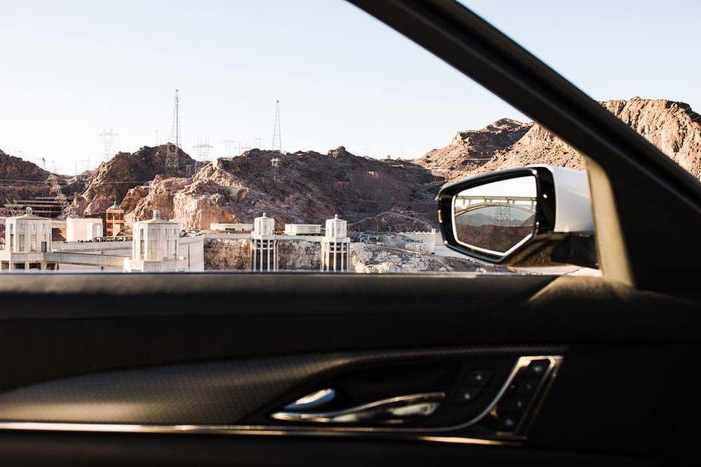 """Till all are one""  .  For @heldth   #cadillac #ctsv #hooverdam #🇺🇸 #nevada #clarkcounty #arizona #mohavecounty #instacars #automotivephotography #🚗💨 #sunny #☀️ #lakemead #americanmuscle  (at Hoover Dam, Nevada / Arizona State Line)"