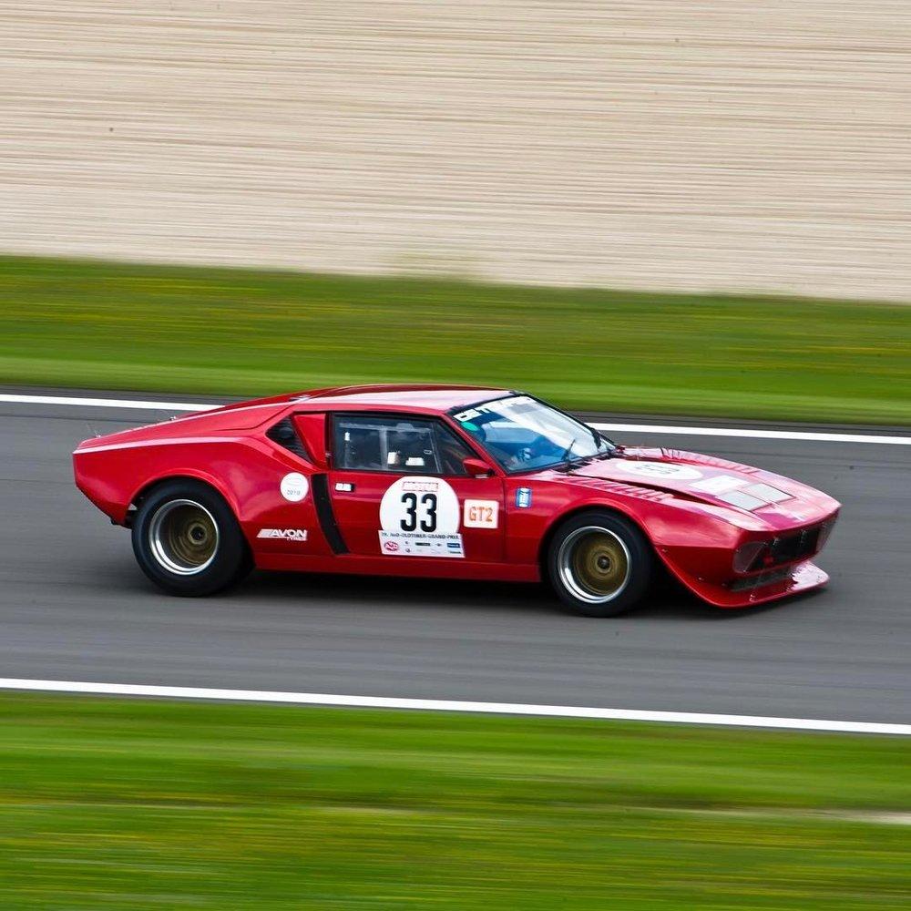 De Tomaso Pantera GTS.   .  #detomasopantera #detomaso #pantera #racing #nürburgring #racetrack #classiccars #classiccarracing #greenhell #🚗💨  #instacars #automotivephotography    (at Nürburgring)