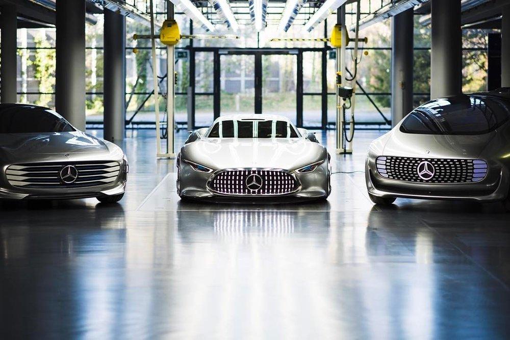 The Future part two in three stories.   .  .  #mercedesbenz #amg #vision #granturismo #concept #study #automotivephotography #hammerfettbombekrass #carsofinstagram #carporn #🤖 #🕶 #🌃 #f015 #luxuryinmotion  #conceptIAA  (at Mercedes-Benz  Sindelfingen)