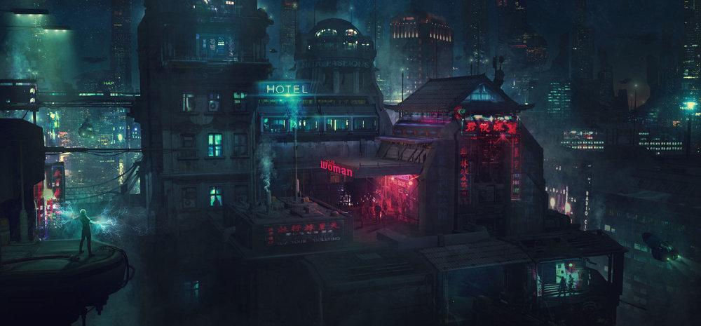 civilizationfiction :      Barcelona Smoke & Neons: Eixample,Guillem H. Pongiluppi