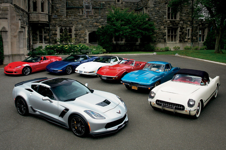 generalmotorsmotorama :     63 years of America's Sports Car. Happy National Corvette Day.
