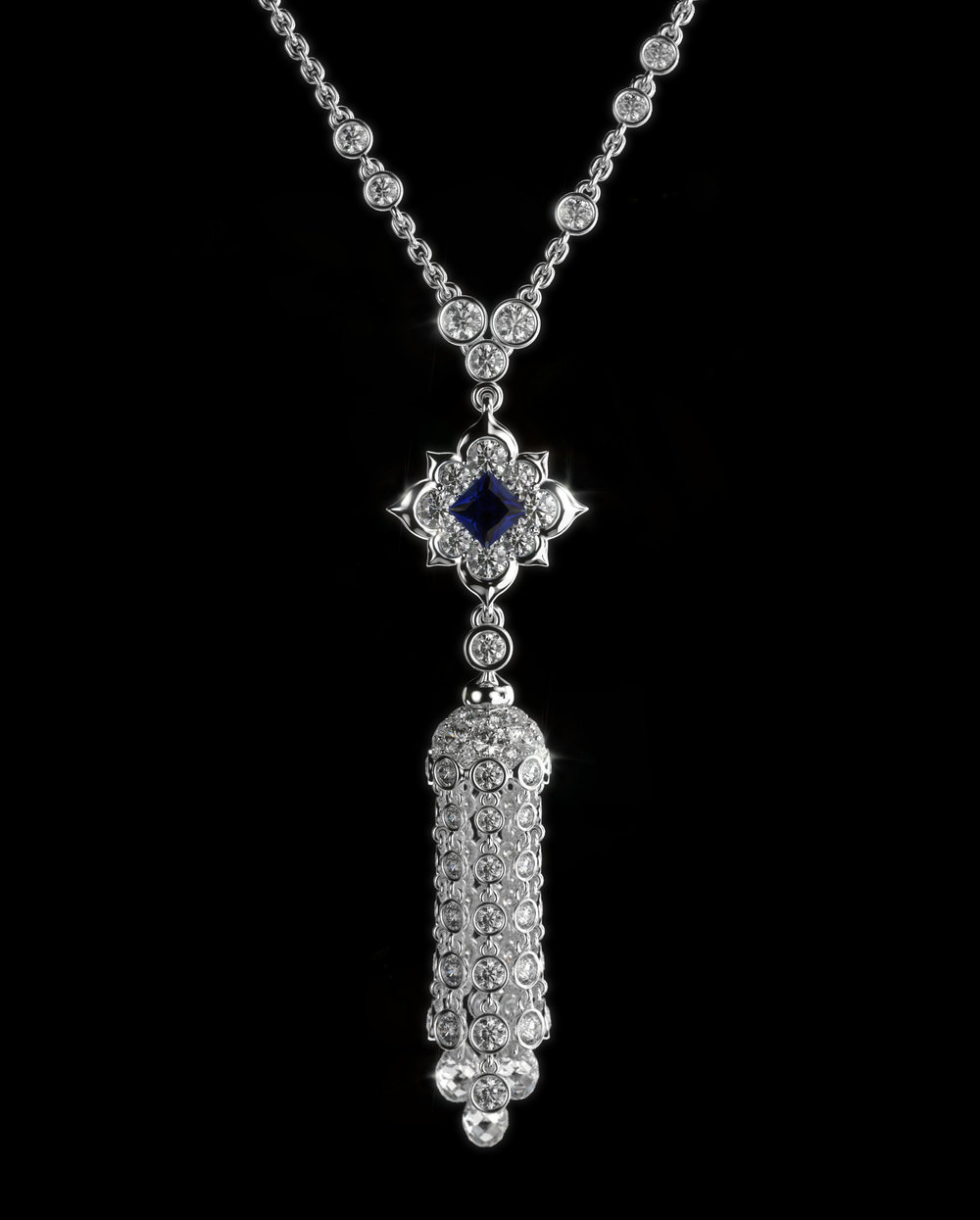 Naghsh-e jahan - An exquisite high jewelry necklace