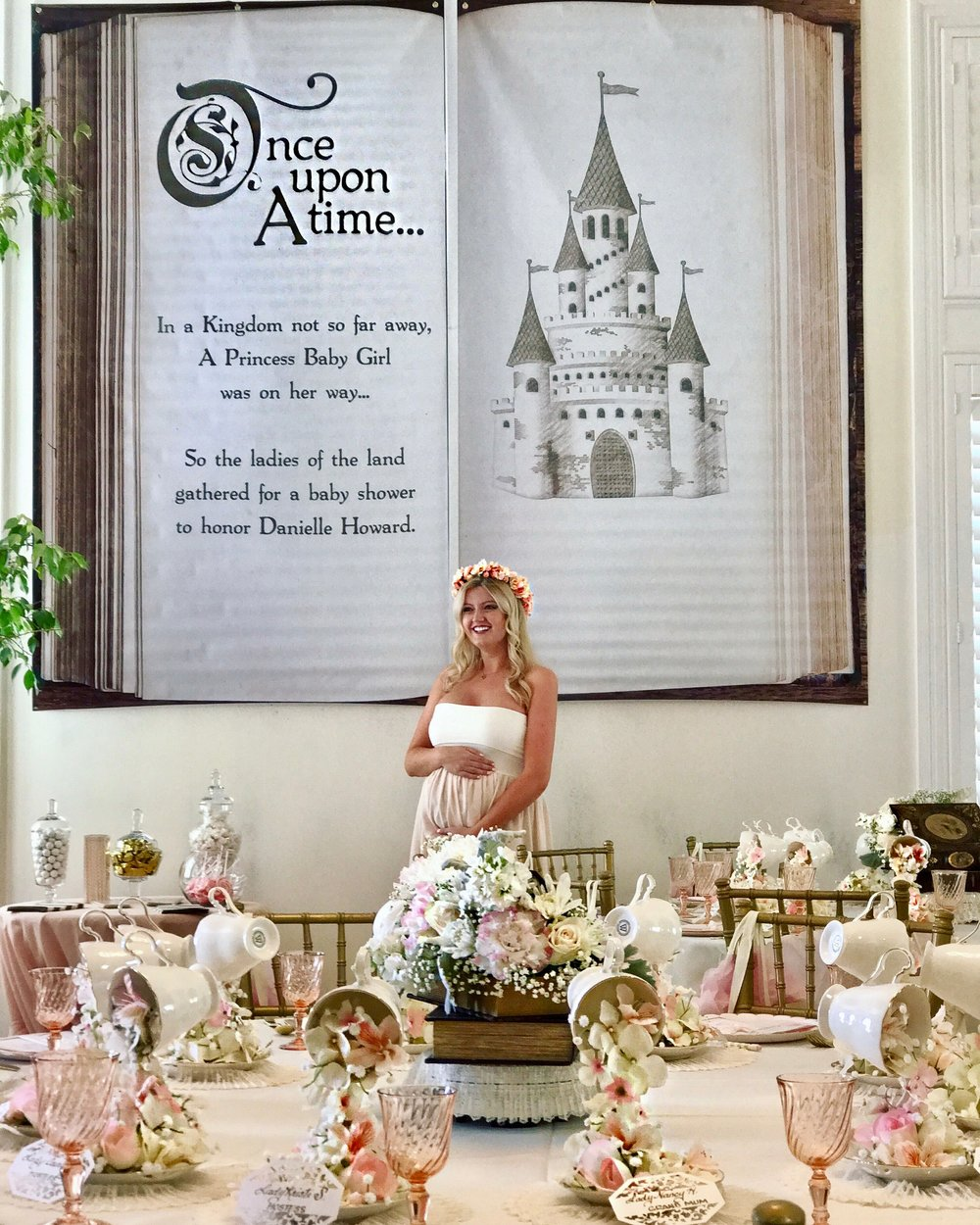 Once Upon A Baby Shower She Delights